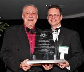 D'Rivera Receives IAJE President's Award