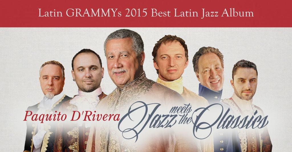 "Jazz Meets the Classics Wins ""Best Latin Jazz Album"""