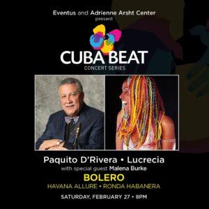 Cuba Beat Concert Series Feb 27 Concert