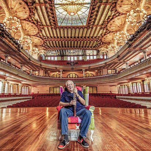 Paquito D'Rivera in Auditorium