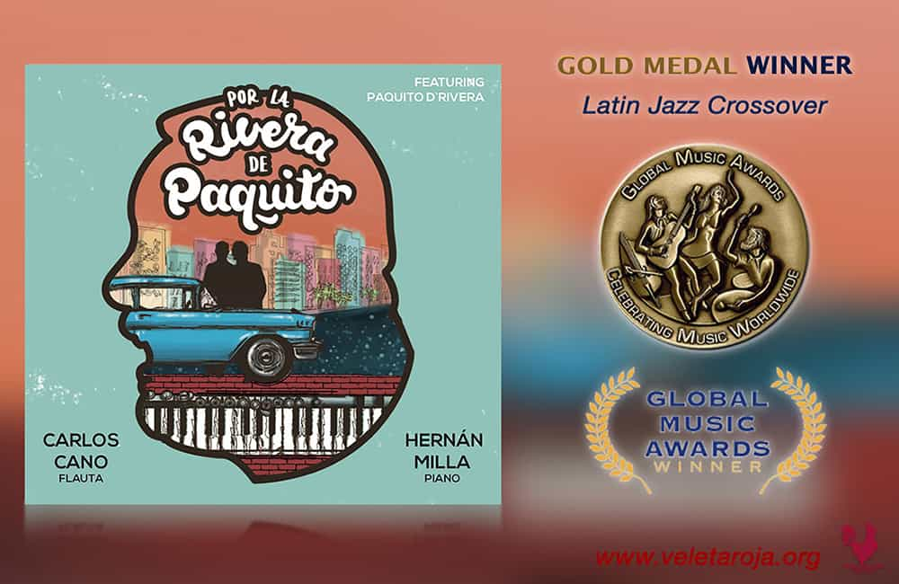 Por La Rivera de Paquito Album Wins Two Awards
