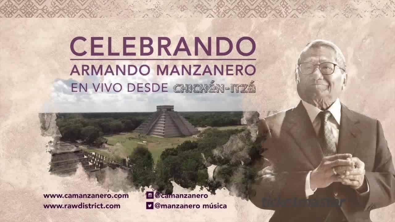 Celebrando Armando Manzanero Concert in Chichen Itza photo