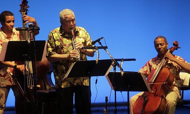 Paquito DRivera with Pepe Rivero Trio