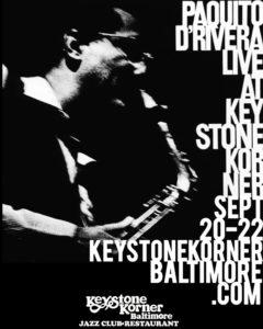 Paquito D'Rivera Quintet at the Keystone Korner Baltimore image