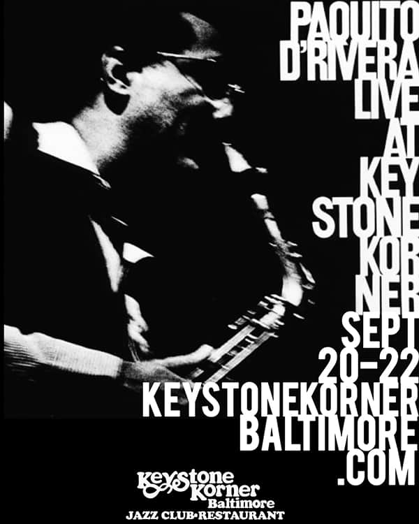 Paquito D'Rivera Quintet at the Keystone Korner Baltimore image