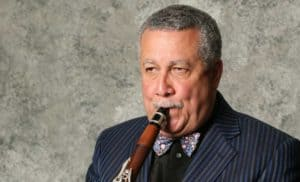Paquito D'Rivera playing Clarinet image