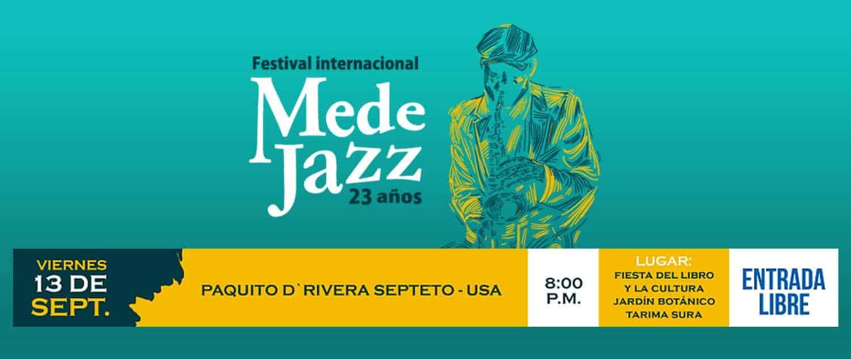 Medejazz September 2019 Concert promo
