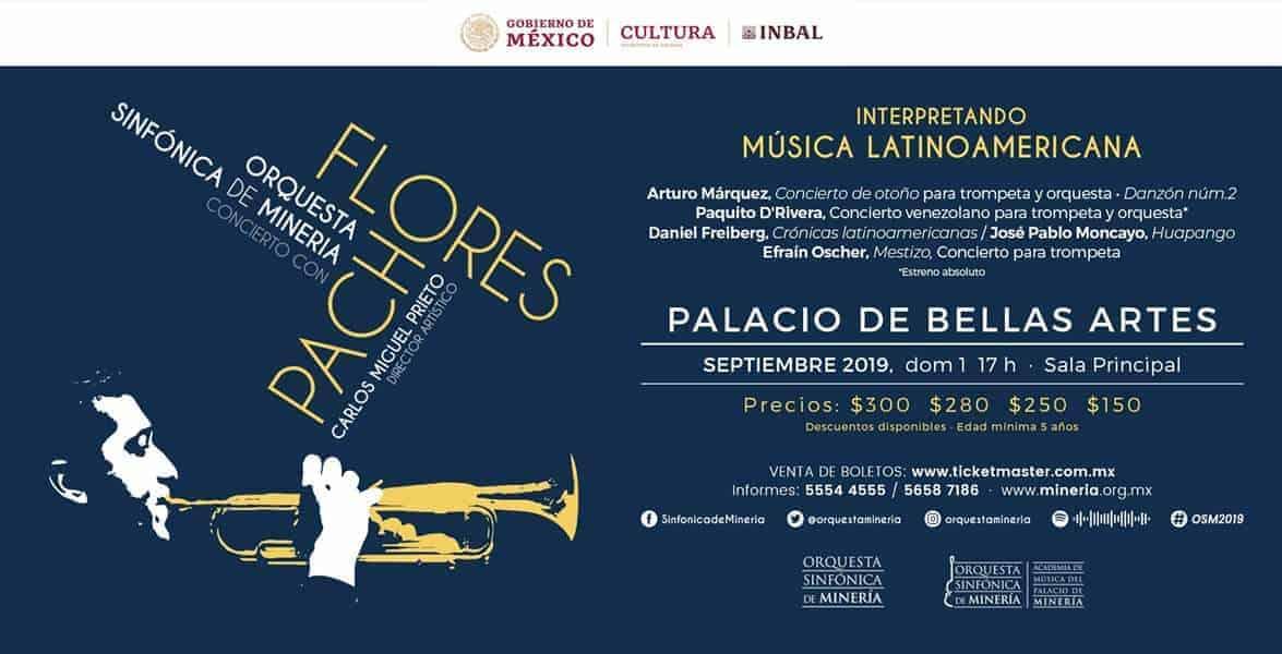 Orquesta Sinfonia de Mineria Trumpet Concerto concert