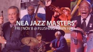 NEA Jazz Masters Flushing Town Hall Concert November 8 image