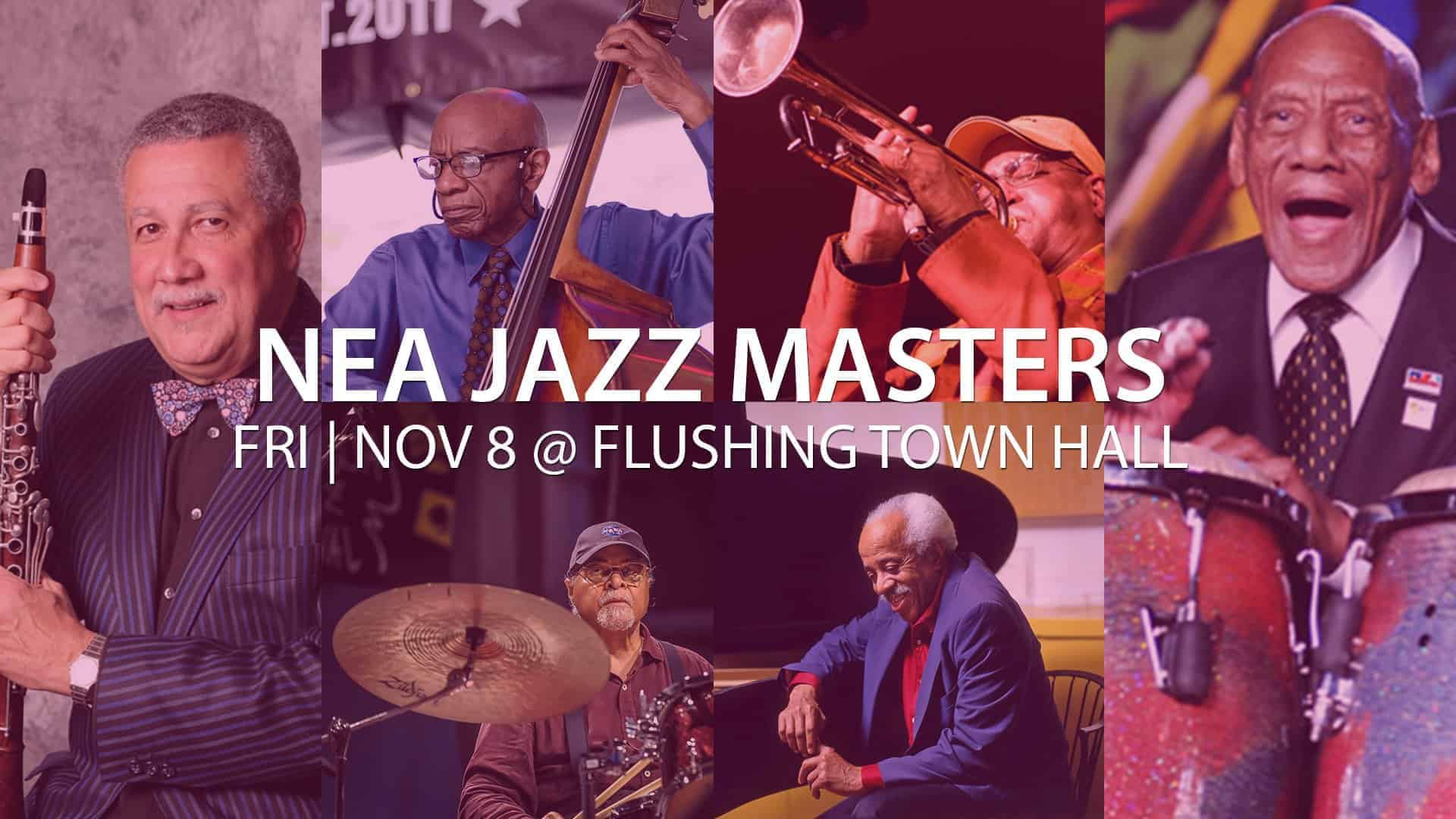 NEA Jazz Masters Flushing Town Hall Concert November 8 image