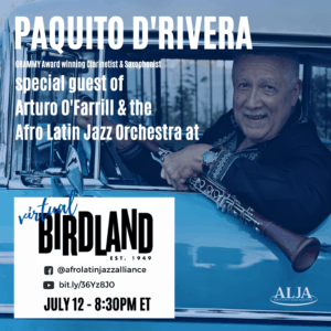 Afro Latin Jazz Orchestra and Arturo O'Farrill with Paquito D'Rivera