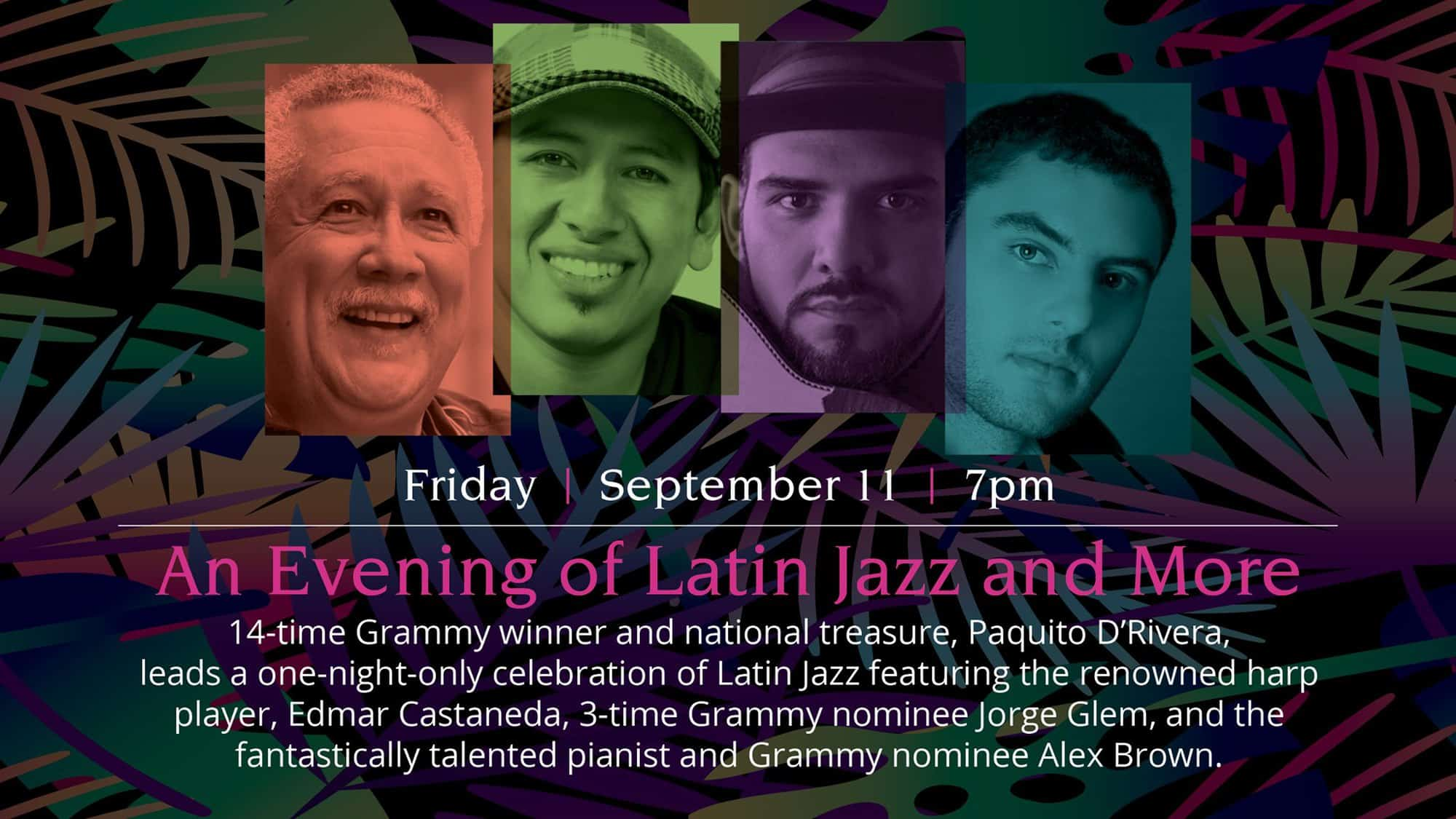 An Evening of Latin Jazz and More