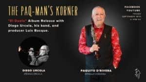 Paq-Mans Korner September 18 with Diego Urcola