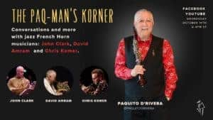 Paq-Man's Korner October 14 with Jazz French Horns