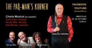 Paq-Mans Korner with Carlos Cano and Hernan Milla