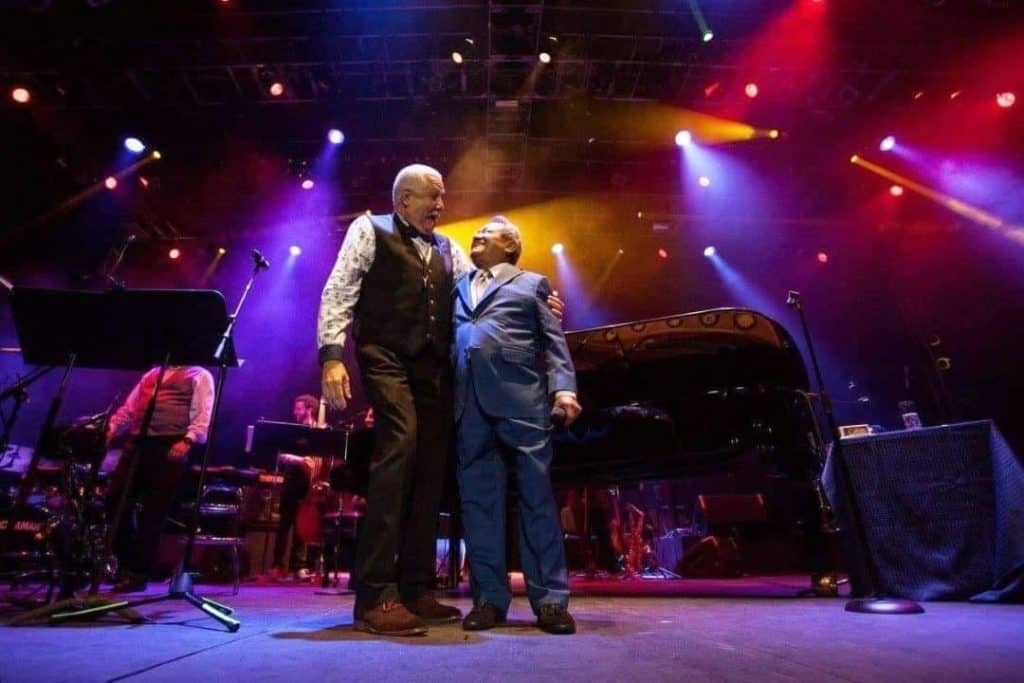 Paquito D'Rivera and Armando Manzanero concert in Mexico