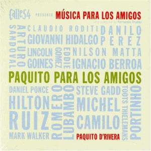 PAQUITO PARA LOS AMIGOS album cover