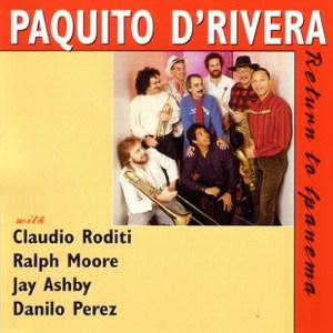 RETURN TO IPANEMA album cover