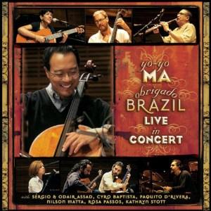 YO-YO MA – OBRIGADO BRAZIL – LIVE IN CONCERT album cover